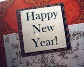 Happy New Year - Blank Greeting Card