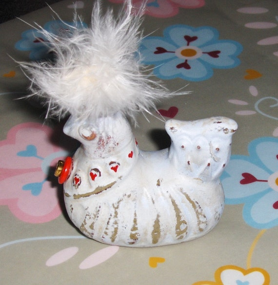 Valentine Love Bird Keepsake  --  Valentino Re-Find Curio Sweet Gift for your Valentine