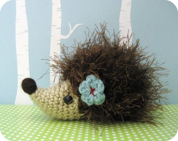 Amigurumi Pattern Crochet Hedgehog Digital Download