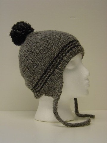 Knitted Flap Hat Pattern Free Patterns