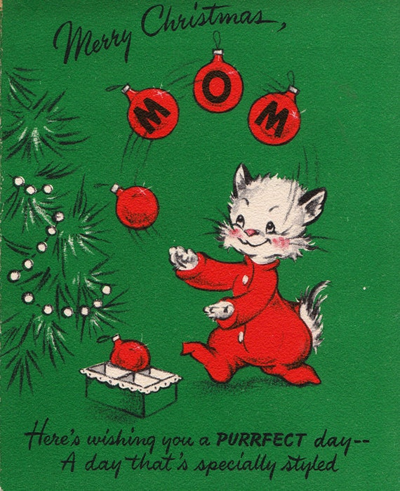 Holiday Greeting Cards Through the Decades - Etsy Journal