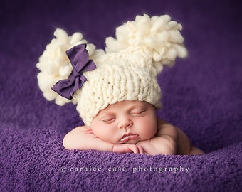 Bulky Yarn Child Hat Pattern Crochet : BABY BULKY IN PATTERN YARN - Free Patterns