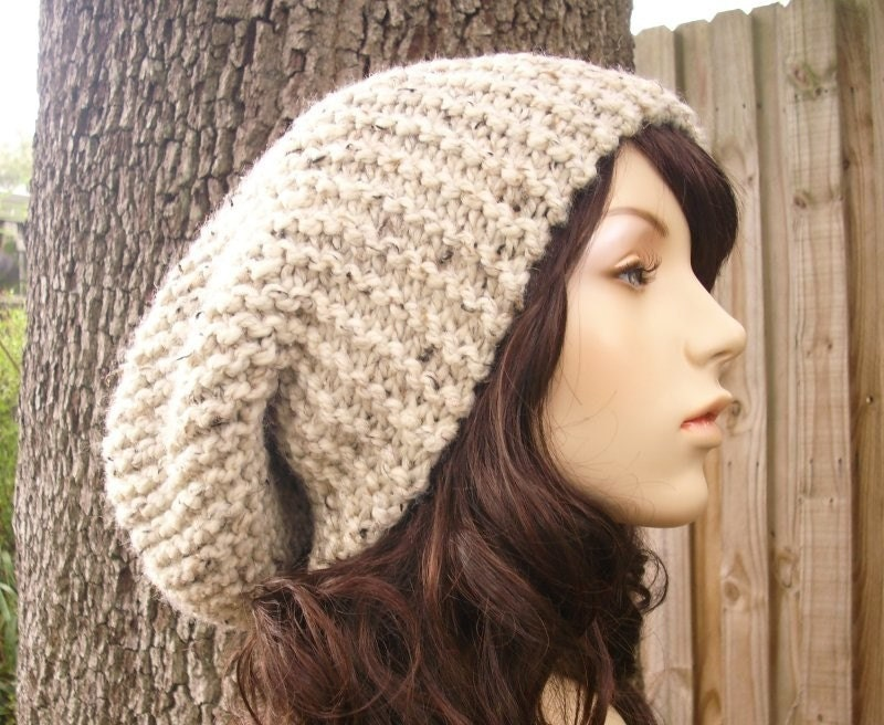 Free Knit Pattern For Boot Toppers : SLOUCH HAT KNIT PATTERN - FREE PATTERNS