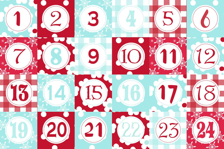 Advent Calendar Templates