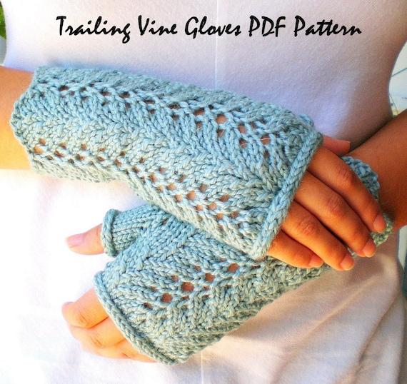 Knitting Fingerless Gloves Patterns Patterns Gallery