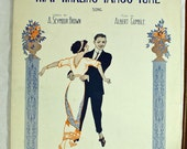 Vintage Sheet Music That Tinkling Tango Tune 1913 Dance Song - SecondLife