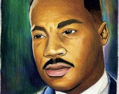 Martin Luther King Injustice Archival Print