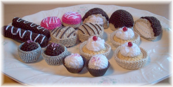 Yummy Dessert...PDF Pattern
