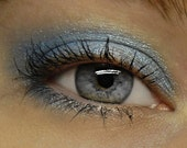 Pale Blue Eyeshadow - GLACIAL Mineral Eye Shadow - Icy Blue Sparkly Mineral Eyeshadow / Eyeliner - Large 10 gram Jar