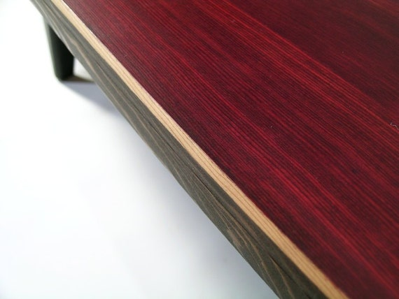 Surfboard Inspired Wood Table.