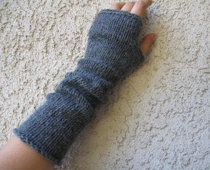 KNITTING PATTERN FOR FINGERLESS MITTENS 1000 Free Patterns