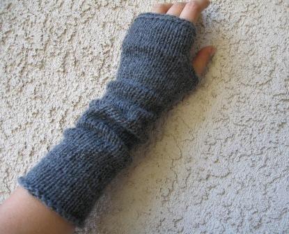 Knitting Pattern For No Finger Gloves : KNITTING PATTERN FOR FINGERLESS MITTENS 1000 Free Patterns