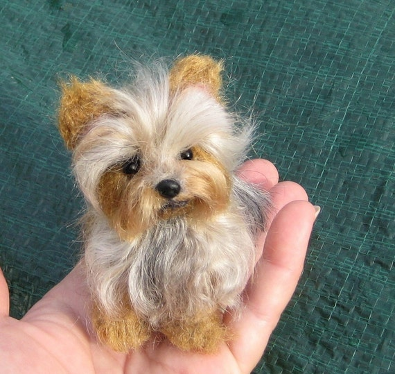 Your Pet in Miniature / Custom handmade Dog Portrait  / Cute / Poseable Art Sculpture