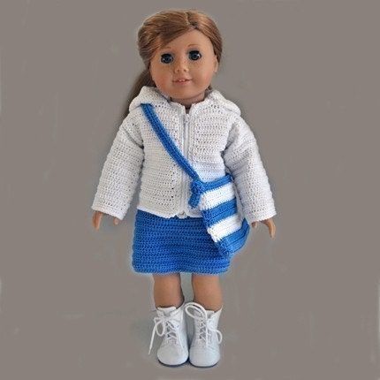 American Girl Crochet Scarf - Christmas Crafts, Free