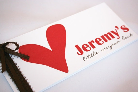 Heart Coupon Book