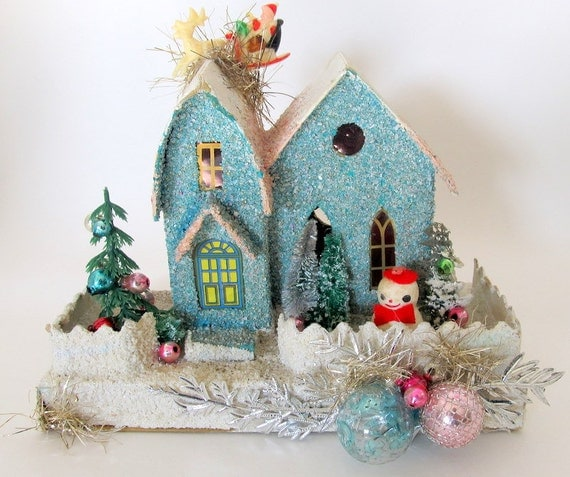 Winter Wonderland House DIY