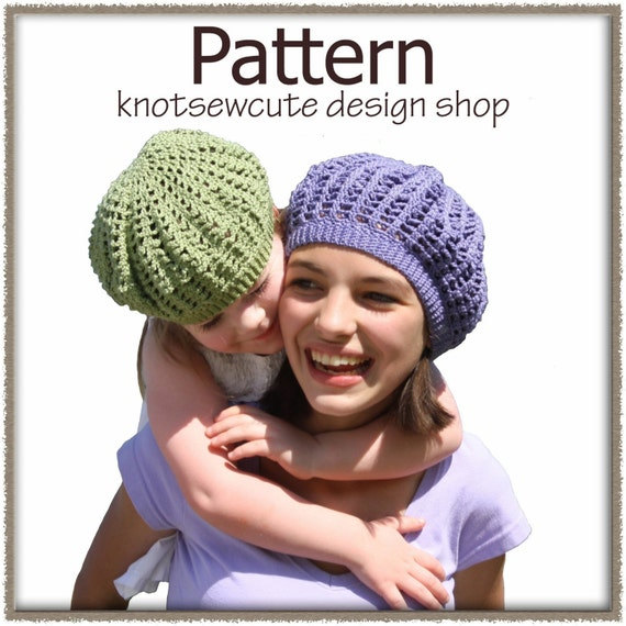 Swirl Tam Hat - Crochet -- All About Crocheting -- Free Patterns