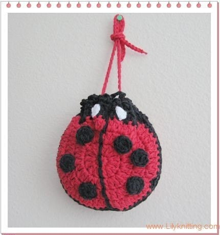Teri Crews Designs: Free Ladybug Crochet Pattern
