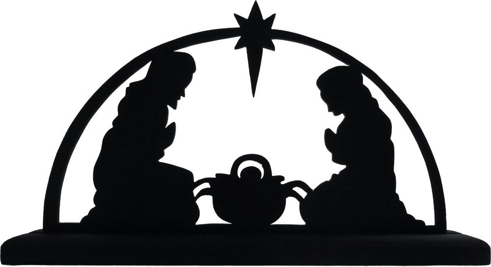 Nativity Angel Silhouette Images & Pictures - Becuo