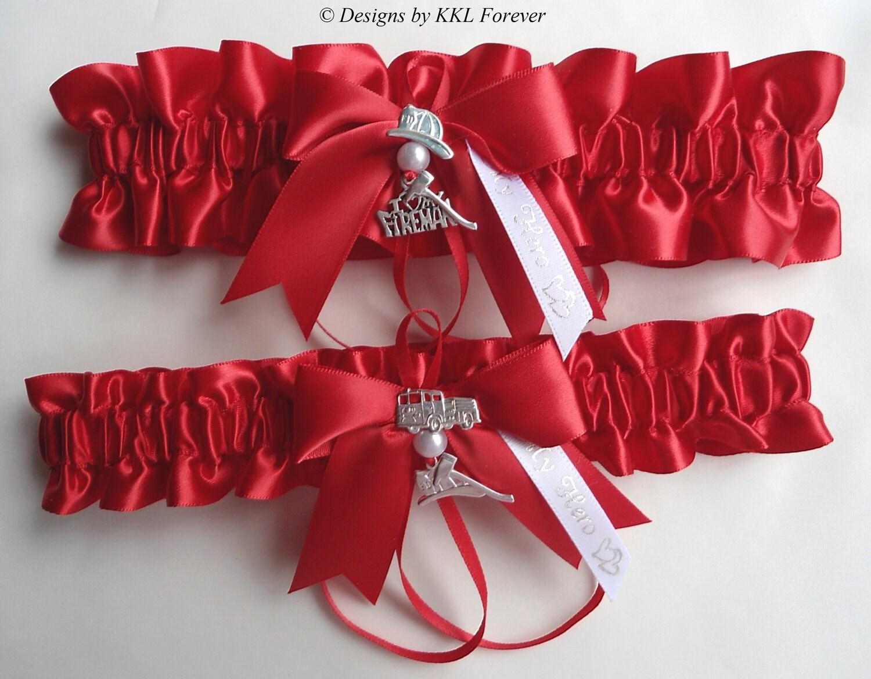 Подвязки для невесты из ленты своими руками