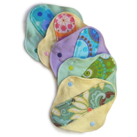 Muffies Cloth Menstrual Pad Set: Choose Any Five Pantyliners