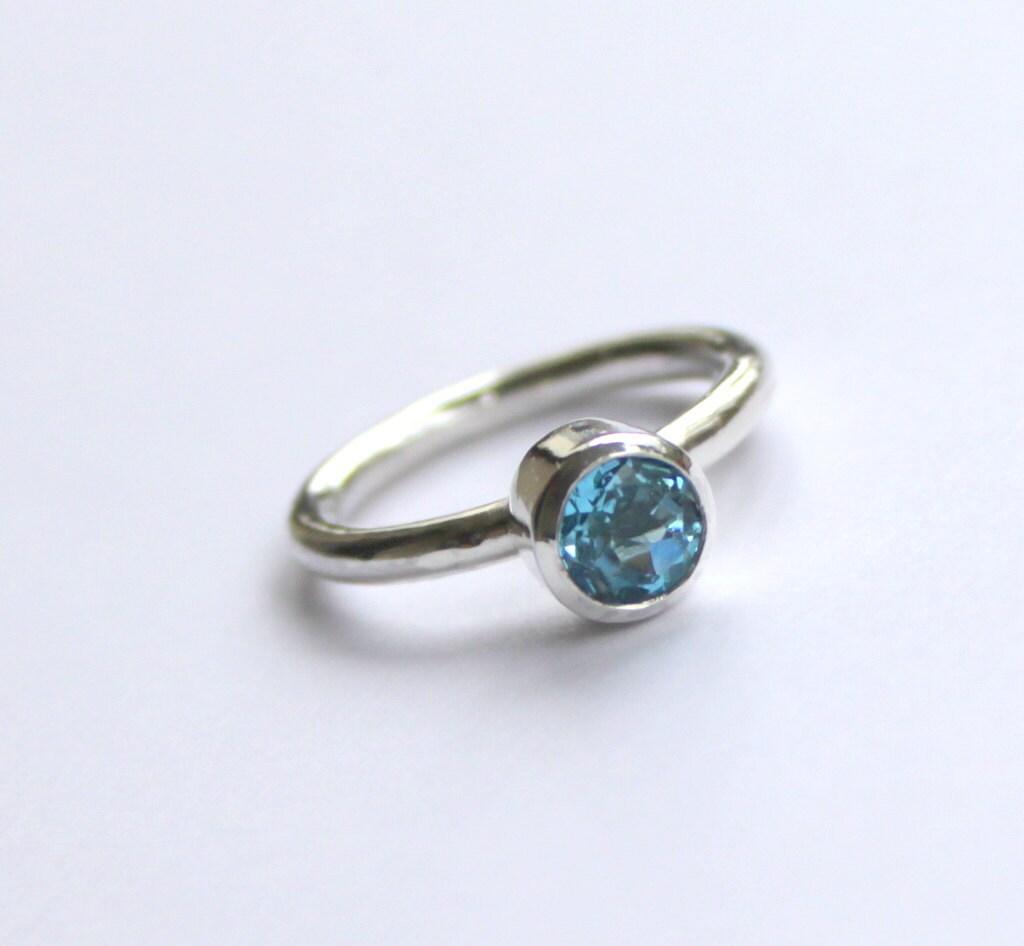 november birthstone blue topaz engagement ring by meltemsem