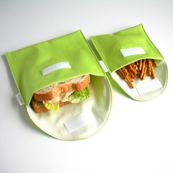 Island Picnic on Etsy Eco Friendly Sandwich Bags