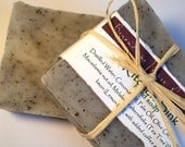 Tee Tree and Lemon All Natural Handmade Essential Oil Soap with Coffee Grids - Kitchen Sink - BeyondThePicketFence