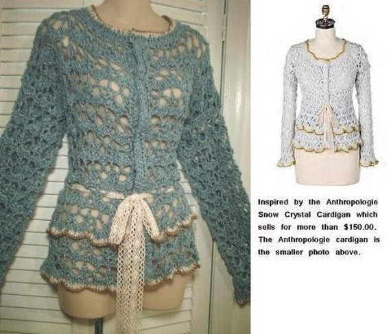 CROCHET CROPPED CARDIGAN PATTERN Crochet Patterns
