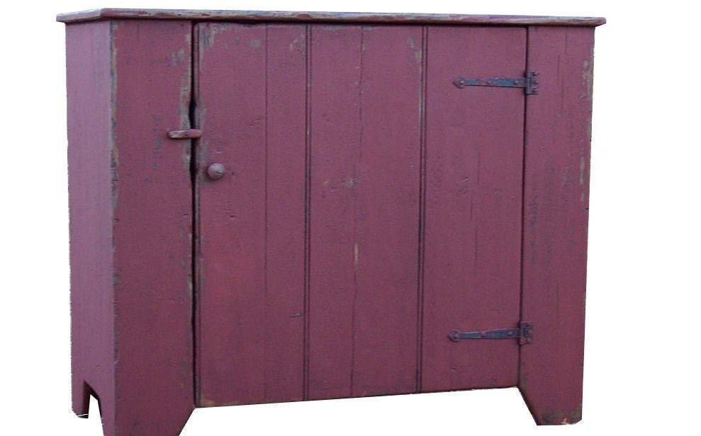 Primitive farmhouse furniture kitchen by JosephSpinaleFurn on Etsy