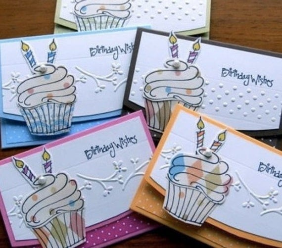 BIRTHDAY Gift Card Holders Handmade goodness for store bought giftcards