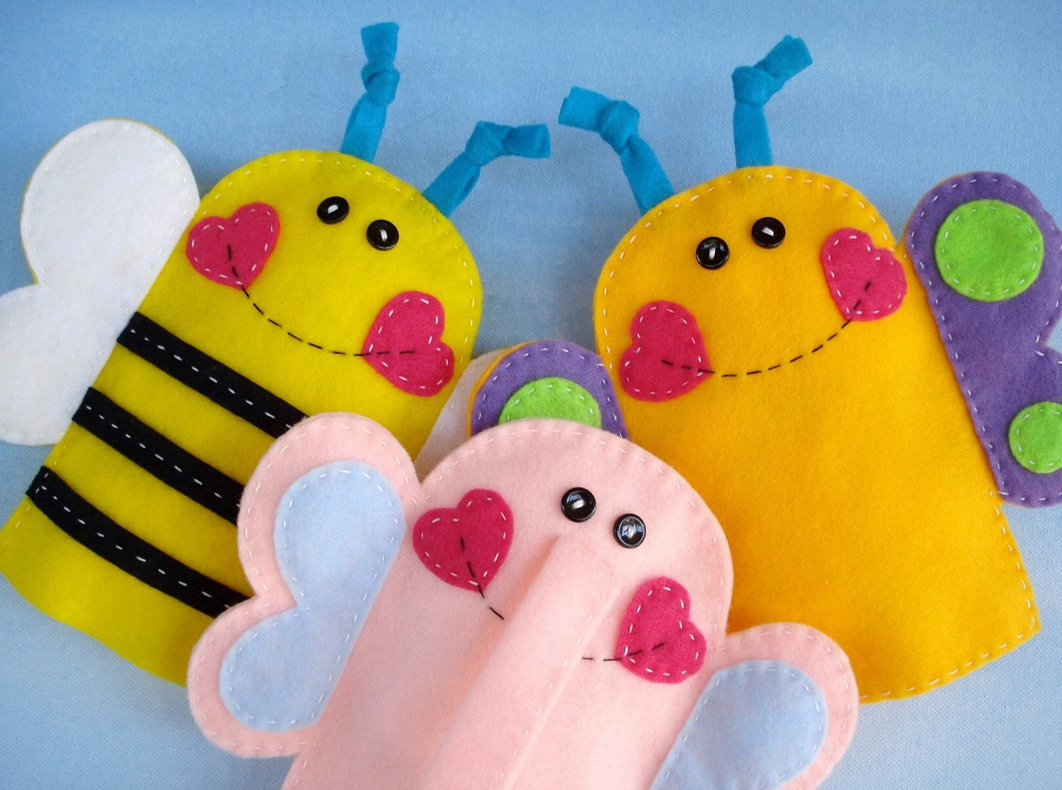 Google afbeeldingen resultaat voor http conniesglass for Bee finger puppet template
