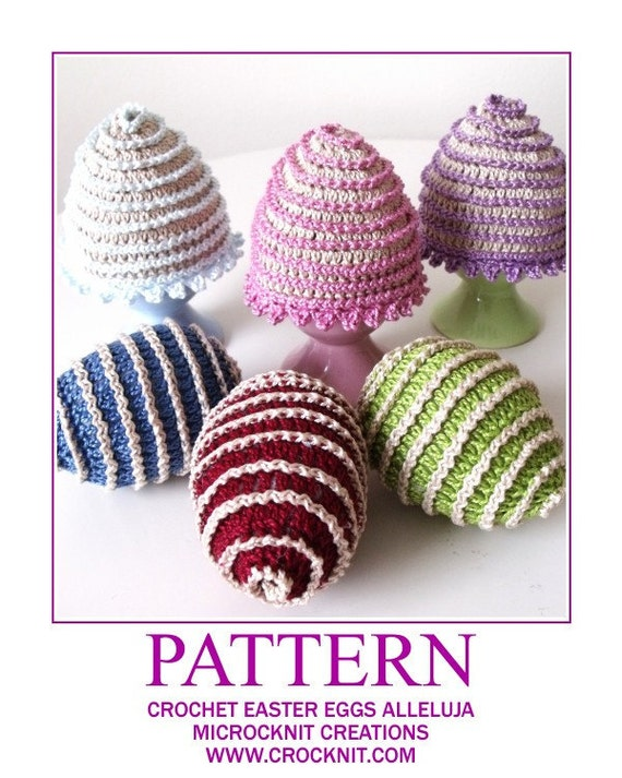 Crochet Easter Eggs and Cosy ALLELUJA