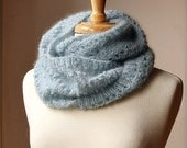 Snood KNITTING PATTERN - Long Circular Scarf - Genevieve Cowl - PDF Electronic Delivery - AtelierTPK