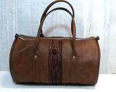 brown duffel with brown tree - anotherjamiedavis
