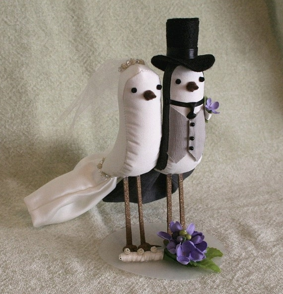 Inspiration: The Best [of the best] Wedding Cake Toppers - Brooklyn ...