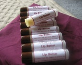 Family Pack... Creamy Lip Butter with Raw African Shea and Brazilian Cupuacu Butters - 5pk