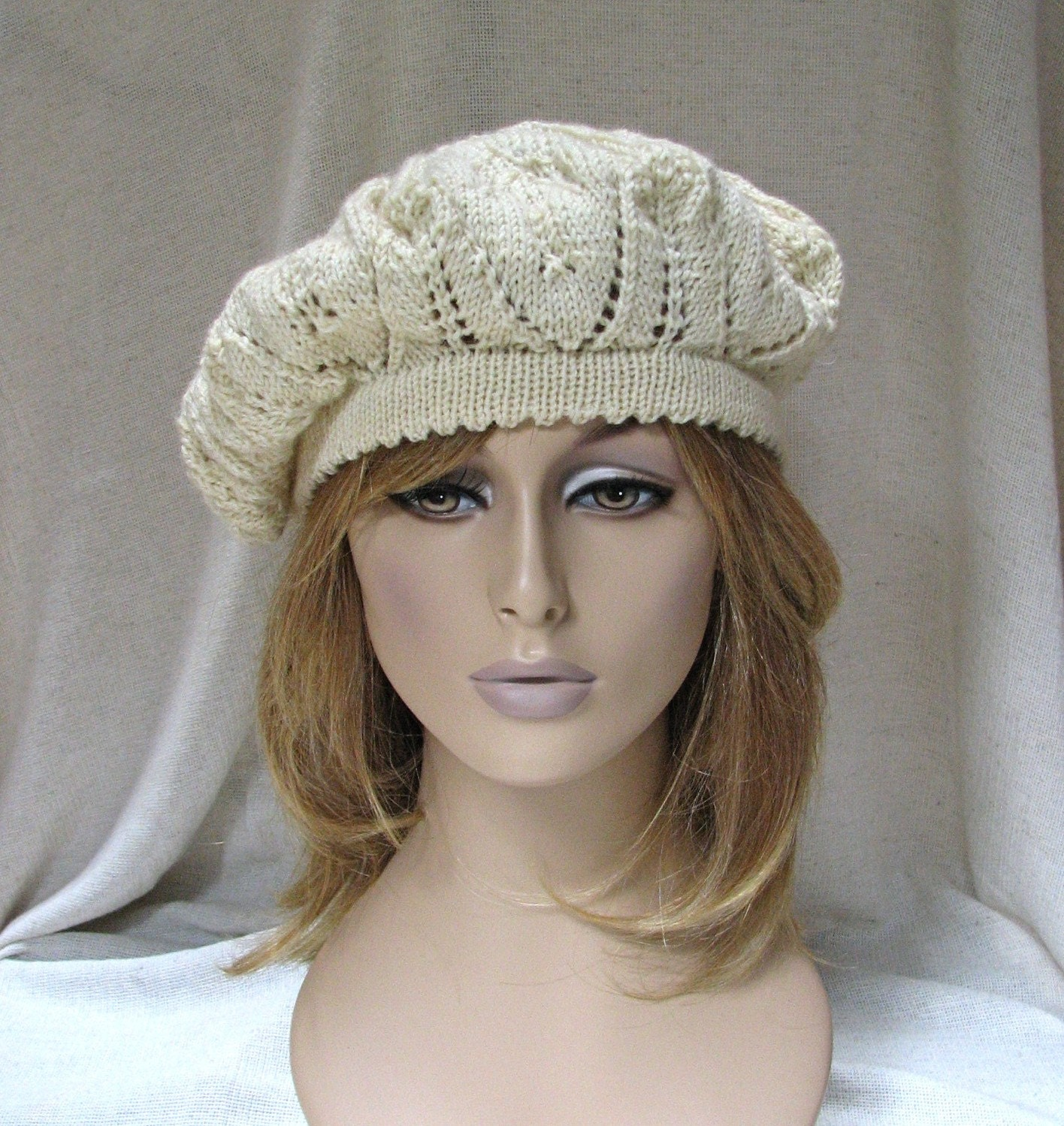 Knitting Patterns For Berets And Hats : BERET HAT PATTERNS - FREE PATTERNS