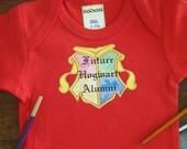 Future Hogwart Alumni Diaper Shirt or Tee