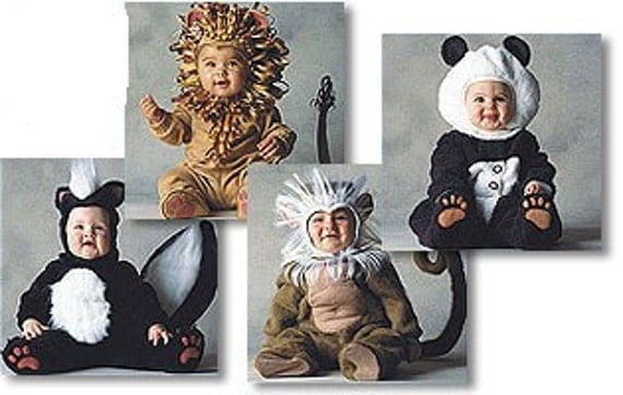 Fearless Baby Lion Costume - Cute Baby Costumes