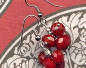 Vine Cherry Out of this World Earrings - Annaart72