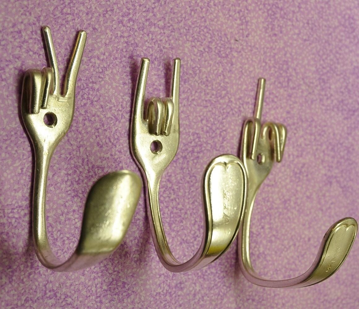 Крючки для вещей своими руками - Чудесная дача 65