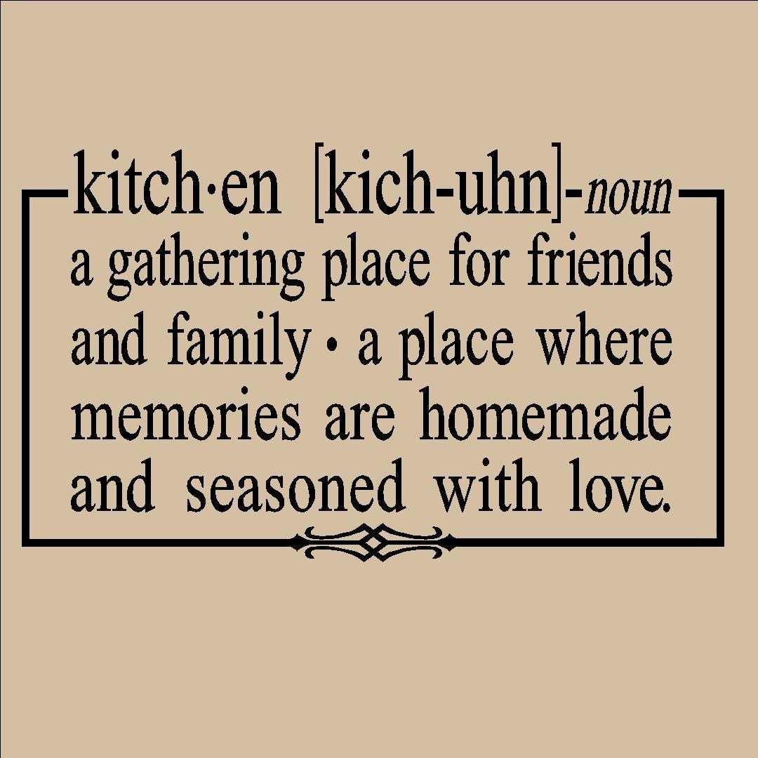 Quotes in the kitchen cooking quotesgram for Kitchen quotation