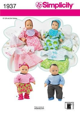 Bitty Baby, Baby Born and Twins Doll clothes and patterns
