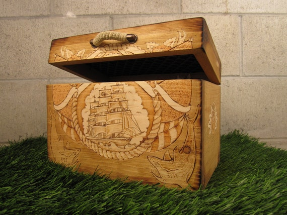Custom Sailors Box Trunk