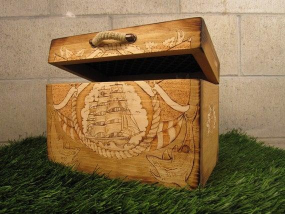 Custom Sailors Box Trunk