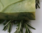 Rosemary Hair Bar for hair health and growth - seagrapesoap