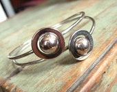 The Planets Are Aligned - Groovy Metal Planetary Bracelet - carmenandginger