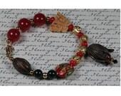 Tulip Collage Bracelet