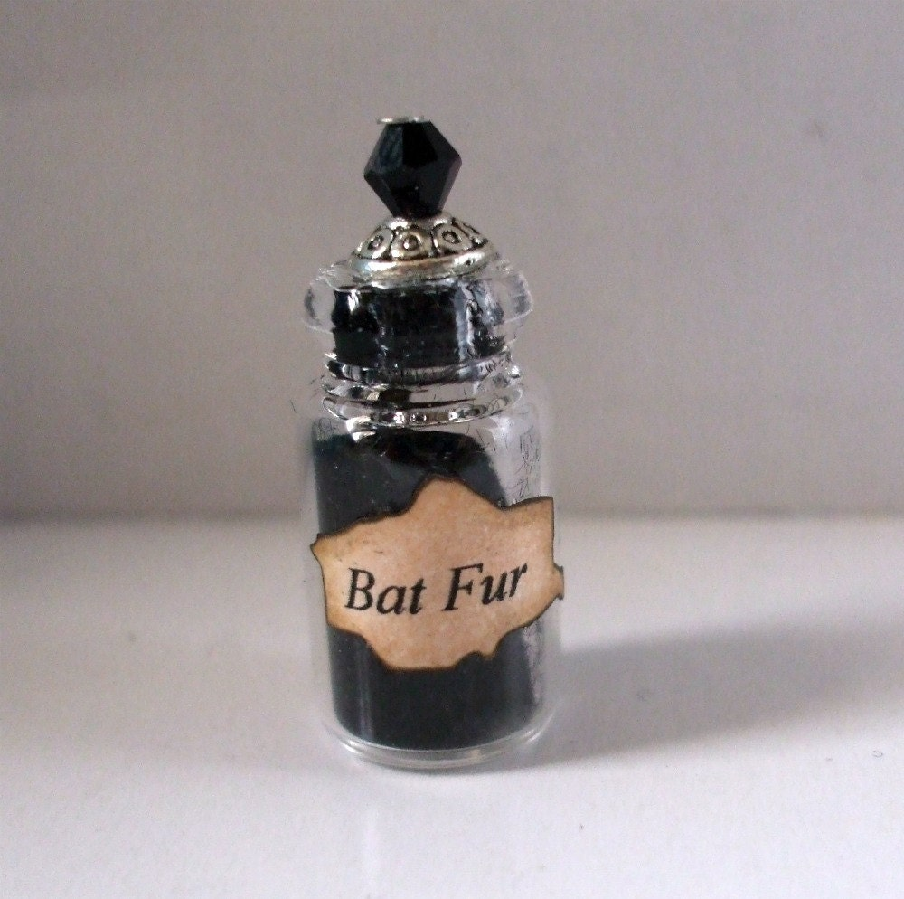 Dollhouse Witch Spell Bottles